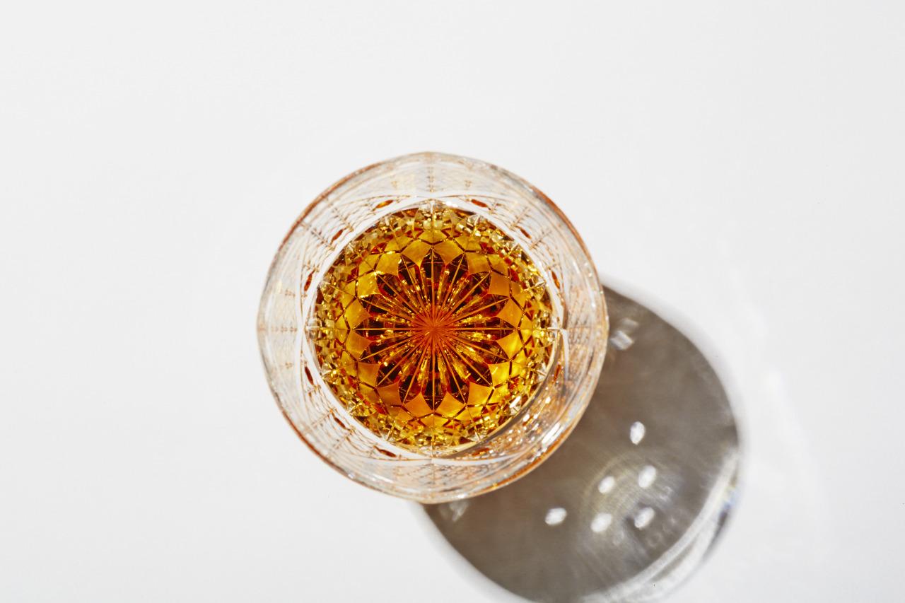 Kiriko glass by Toru Horiguchi ?Horiguchi Kiriko