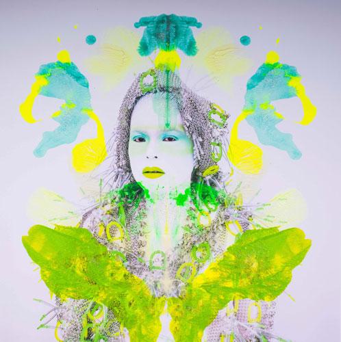 Kimiko Yoshida RorschachYoshida LXXXVI (Monna Lisa M), 2018