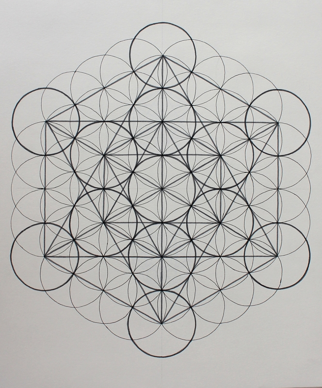 Metatron's Cube and nature's first pattern