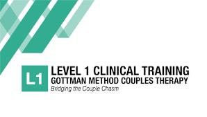 Gottman Level 1 Training   .
