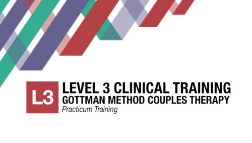 Gottman level 3 training