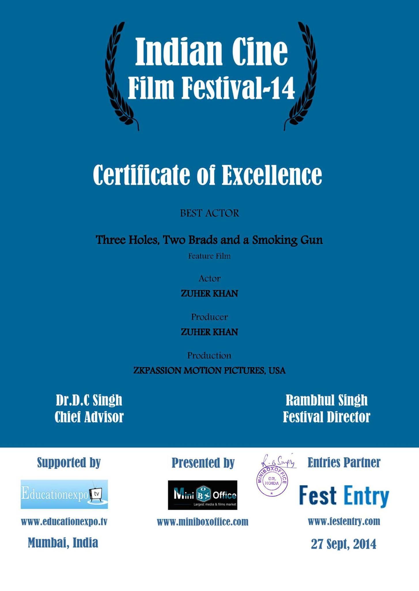 Indian Cine-Best Actor