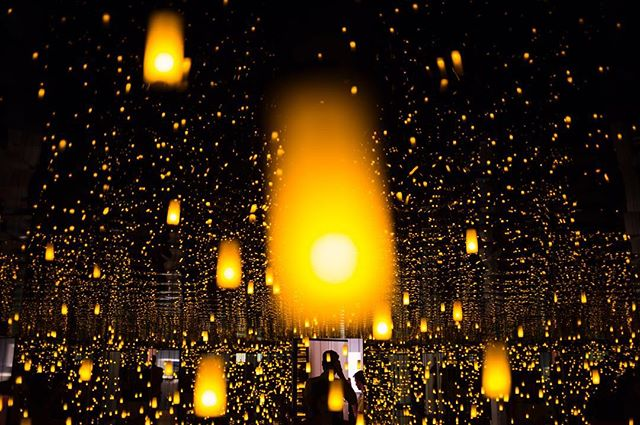 Part of me is still living in this infinity room // #InfiniteKusama @seattleartmuseum