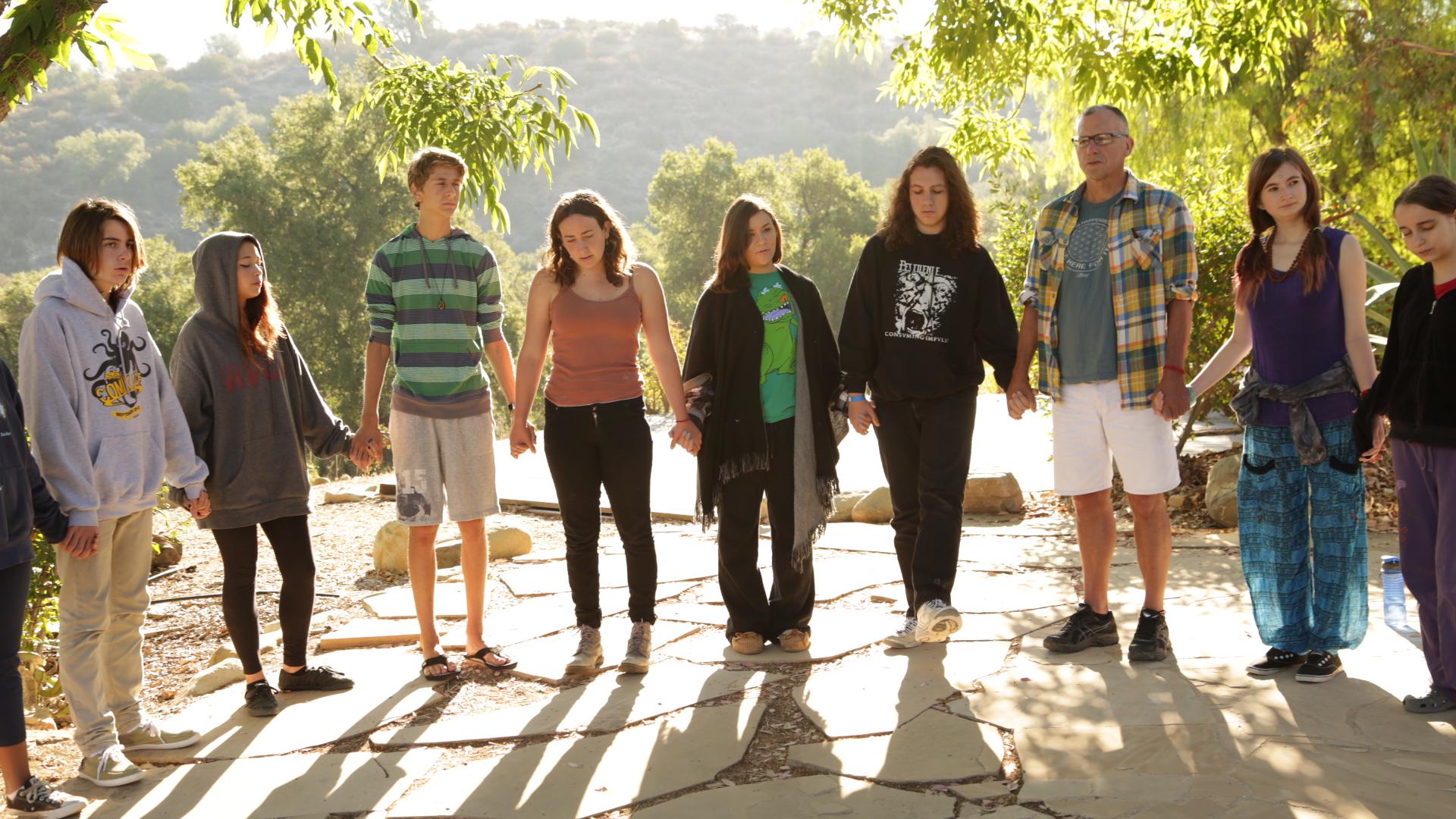 Teens on a previous iBme retreat. Photo courtesy of iBme.