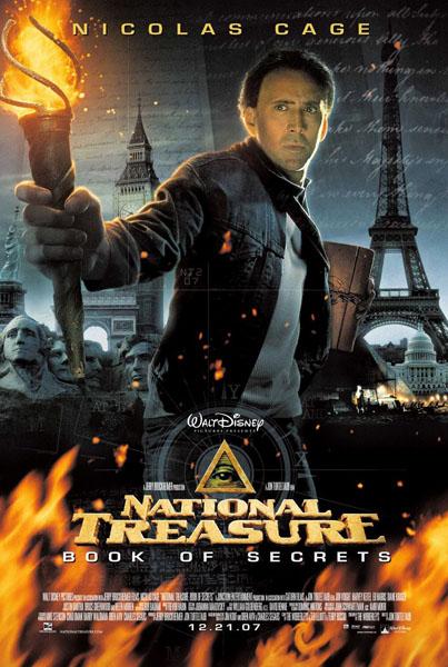 National Treasure Book of Secrets -      Hero Prop Graphic Design