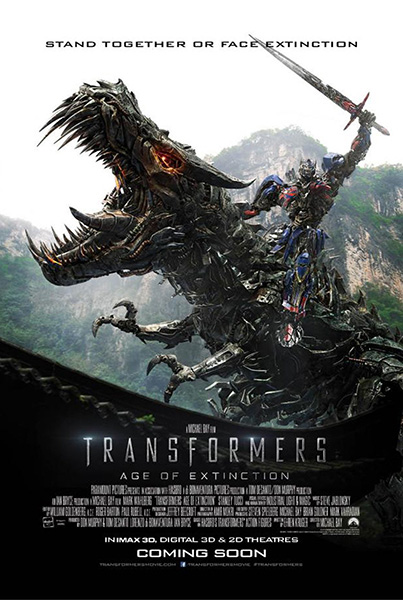 Transformers Age of Extinction - Technical Consultant