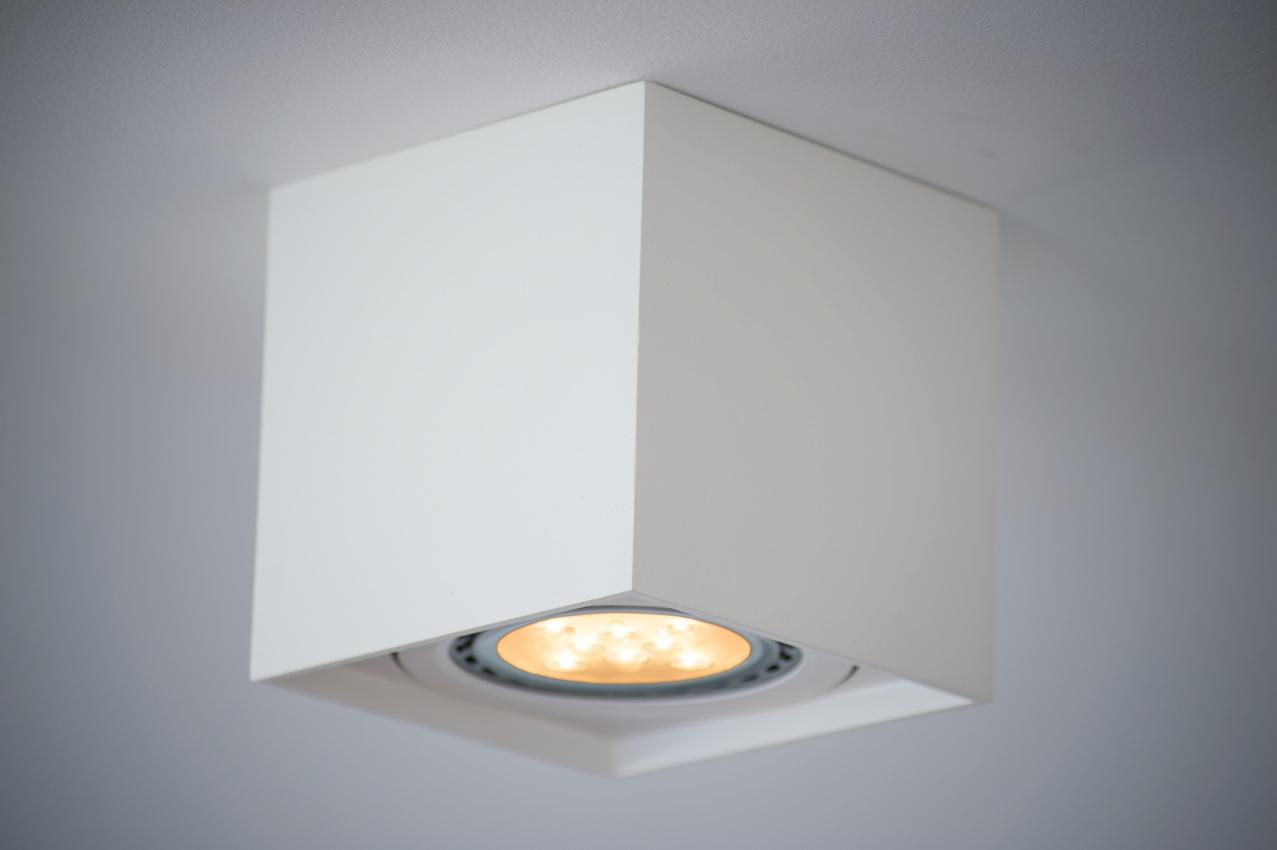 Intel Quadrant LED Light