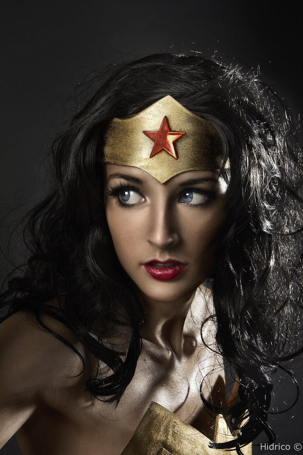 Ivettepuig  is Wonder Woman — Photo By  Hidrico