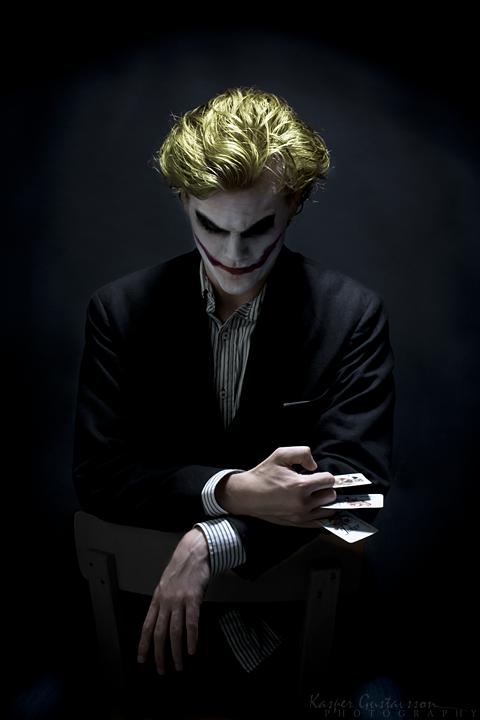 Joker by:  Kaspergustavsson