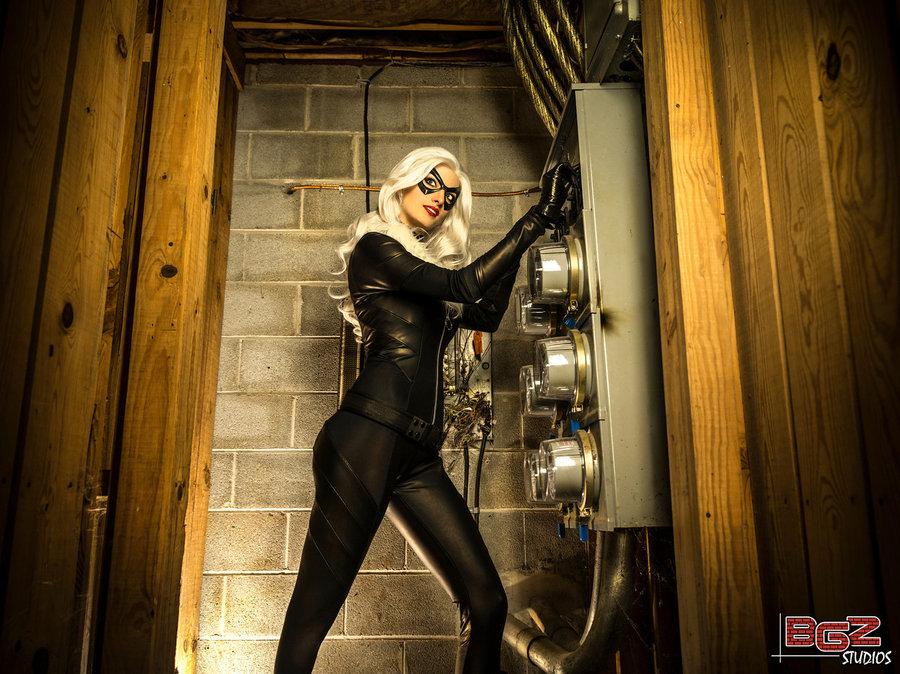 Katie George  is Black Cat | Photo by  BGZstudios