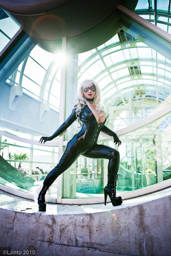 YayaCosplay  is Black Cat | Photo by  Ljinto
