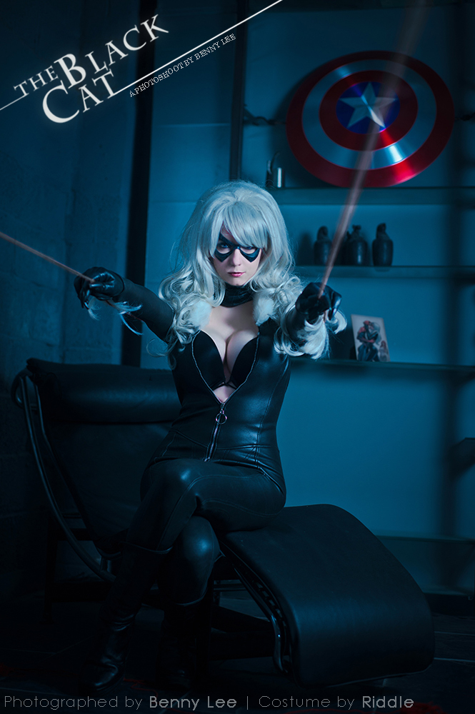 Riddle1  is Black Cat | Photo by  Benny-lee
