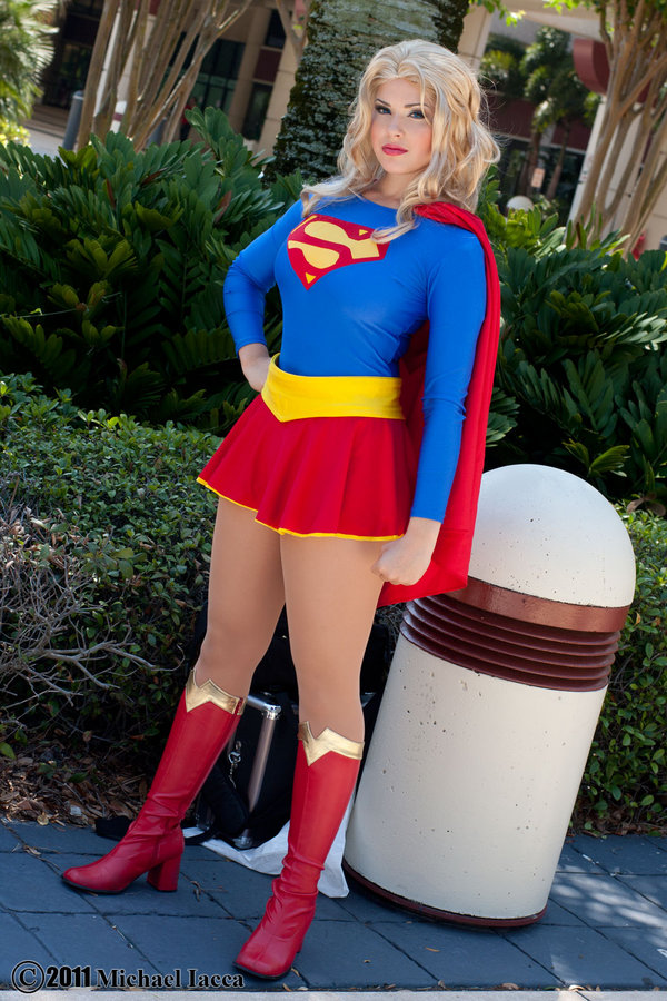 Milla Bishop  is Supergirl — Photo by  Insane-pencil