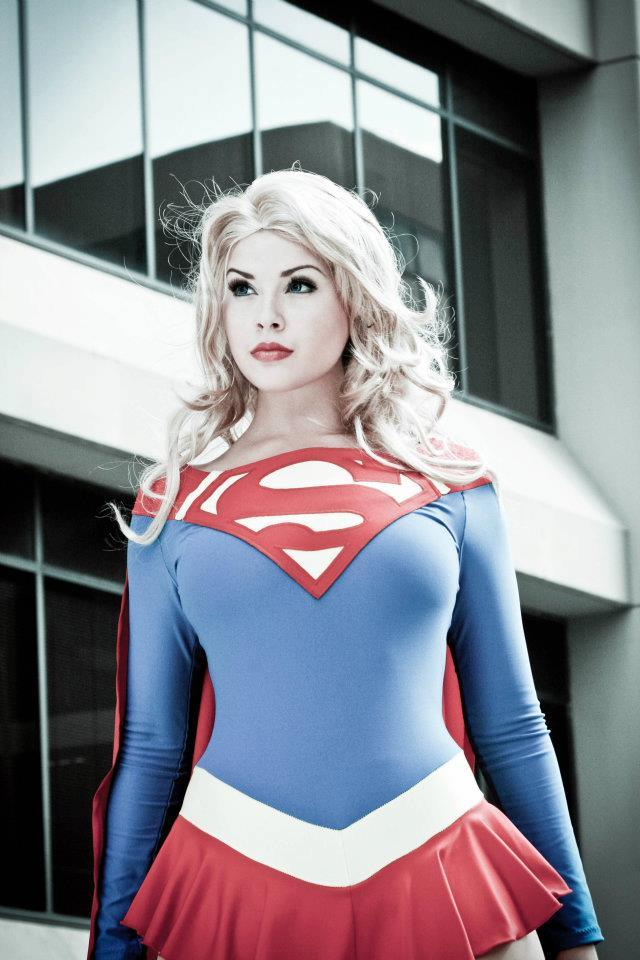 Milla Bishop  is Supergirl — Via  Geeks Are Sexy