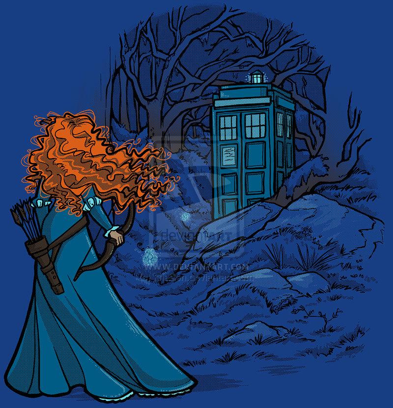 Disney Princesses Meet Doctor Who Geektyrant