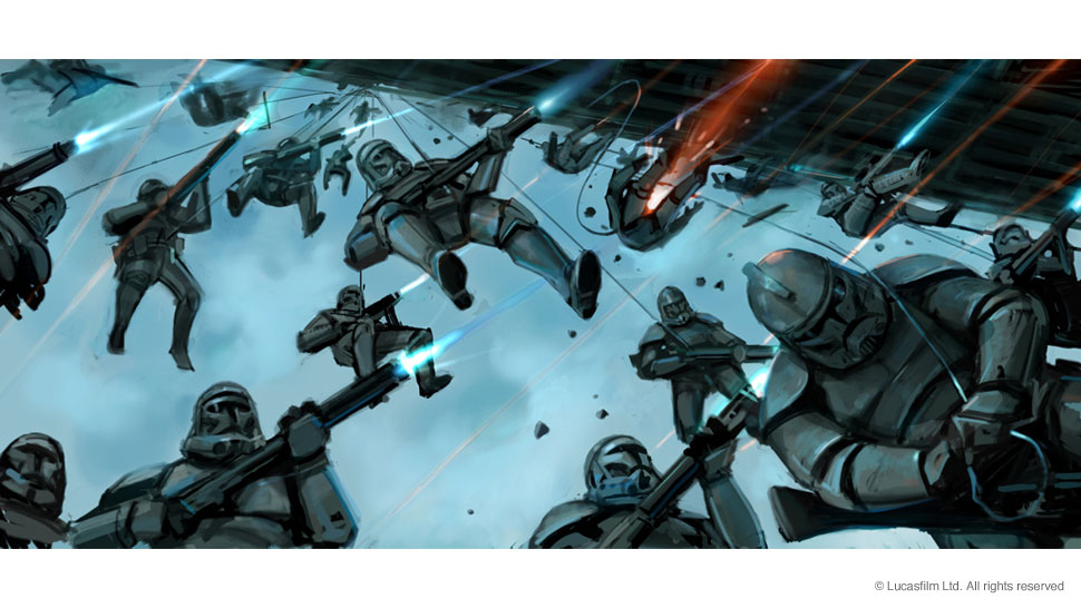 Awesome Star Wars Episode Iii Concept Art Collection