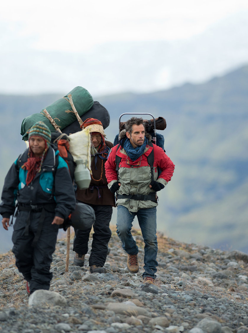 New Posters And Images For The Secret Life Of Walter Mitty