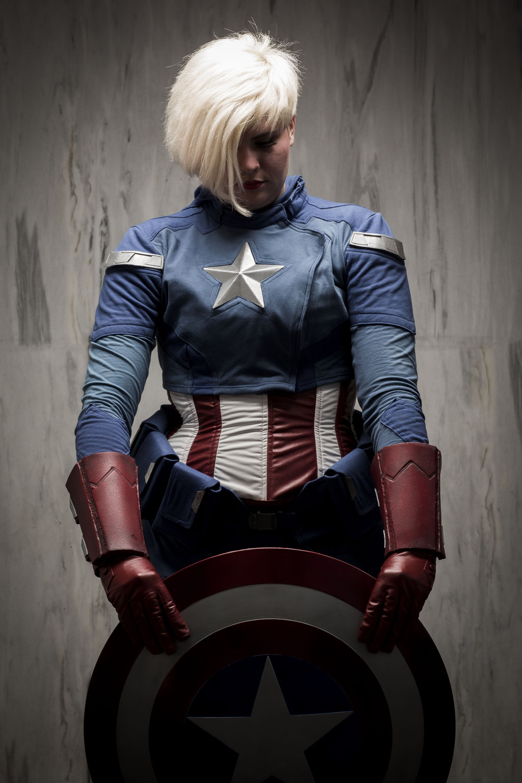 imatangelo  is Captain America | Photo by Joey Miller