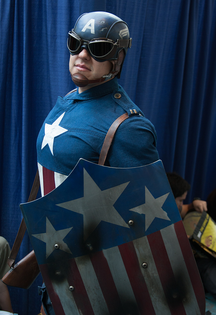 Unknown is Captain America | Photo by  Westudios