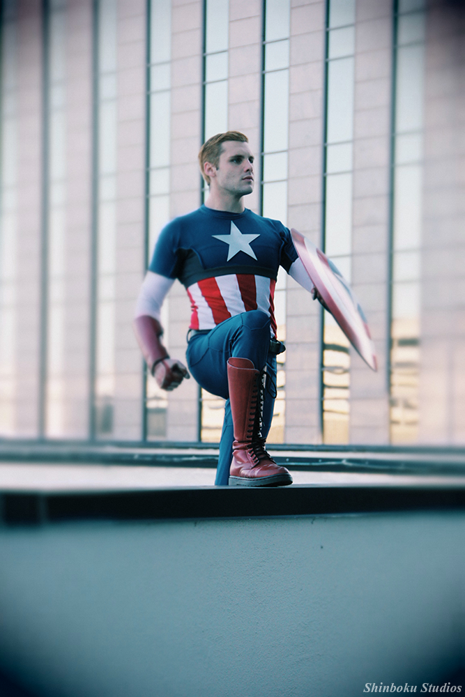 Harrison Wayne Beahn is Captain America | Photo by  RisingParadise