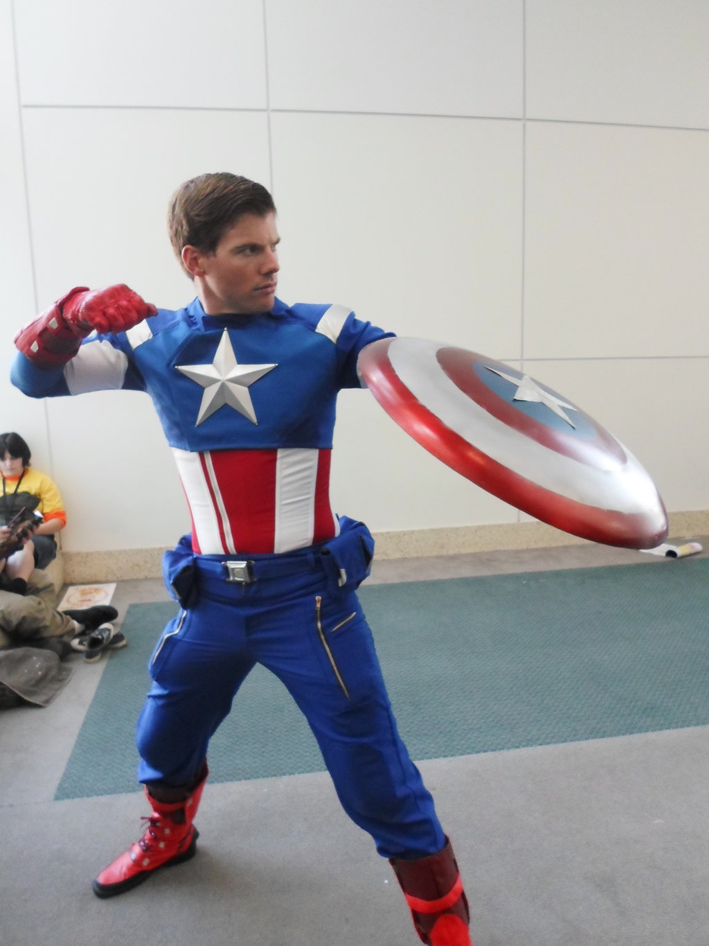 Humble Shield  is Captain America | Photo by  Digitallee
