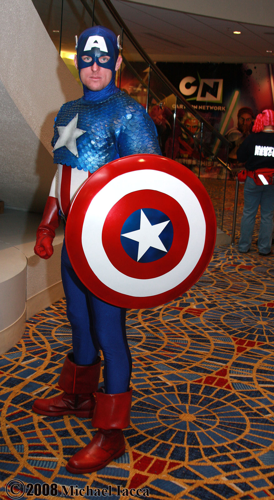 Unknown is Captain America | Photo by  Insane-Pencil