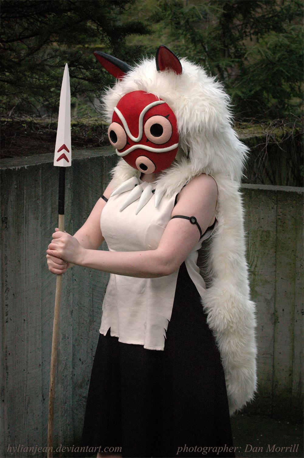 HylianJean  is San / Princess Mononoke | Photo by  DanMorrill