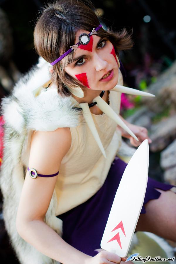 lovelyyorange  is San / Princess Mononoke | Photo by  fallingfeathers