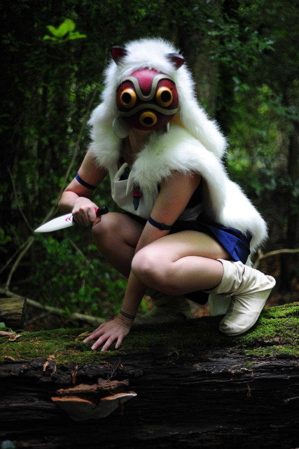 LauraNeocleous  is San / Princess Mononoke | Photo by Violet