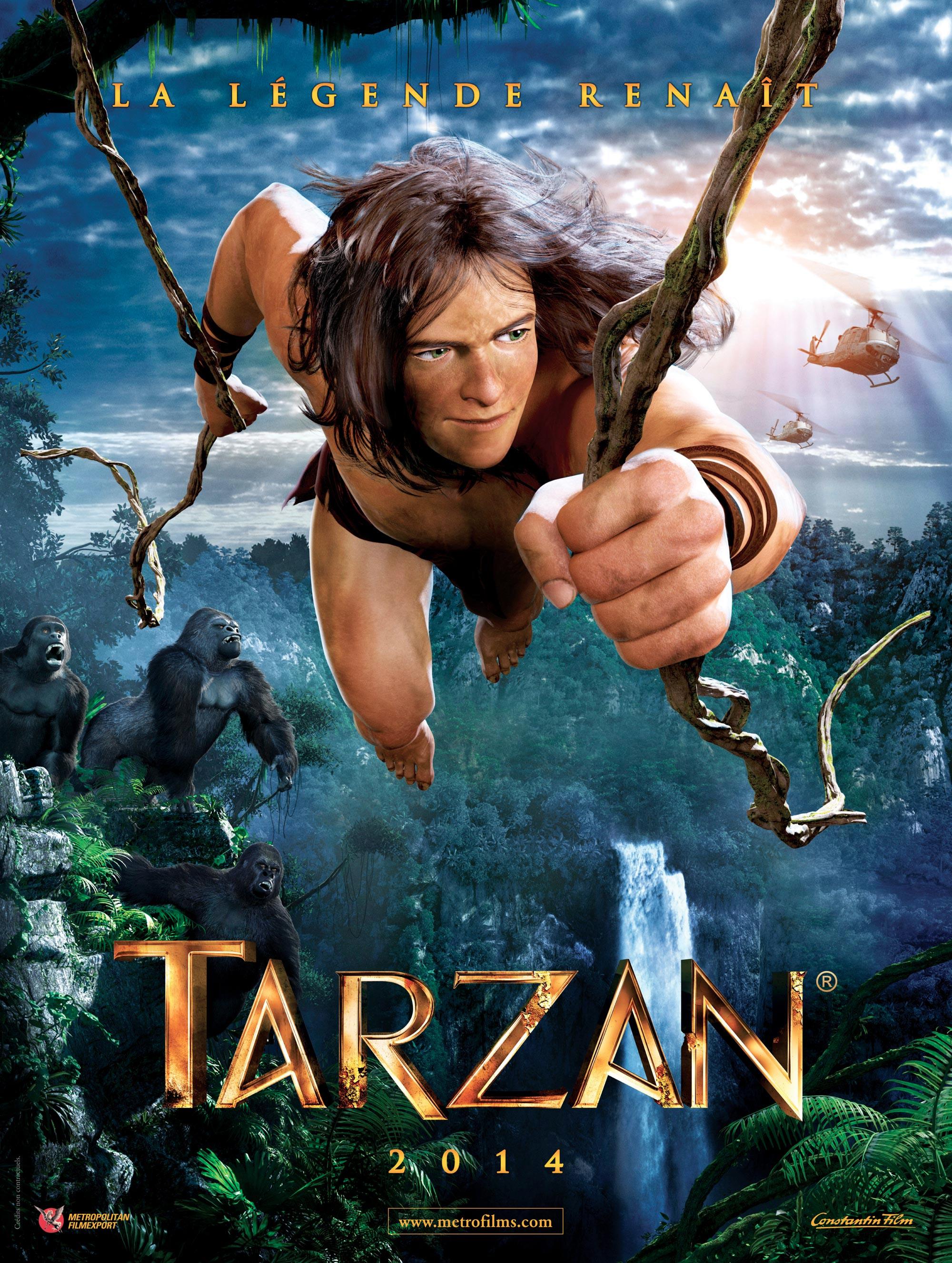 Full Trailer For The Cg Animated Tarzan Movie Geektyrant