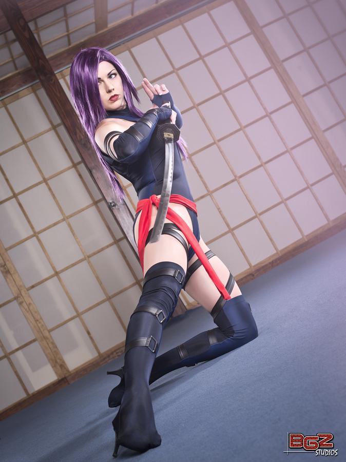 Miracole Burns  is Psylocke | Photo by:  BGZ Studios