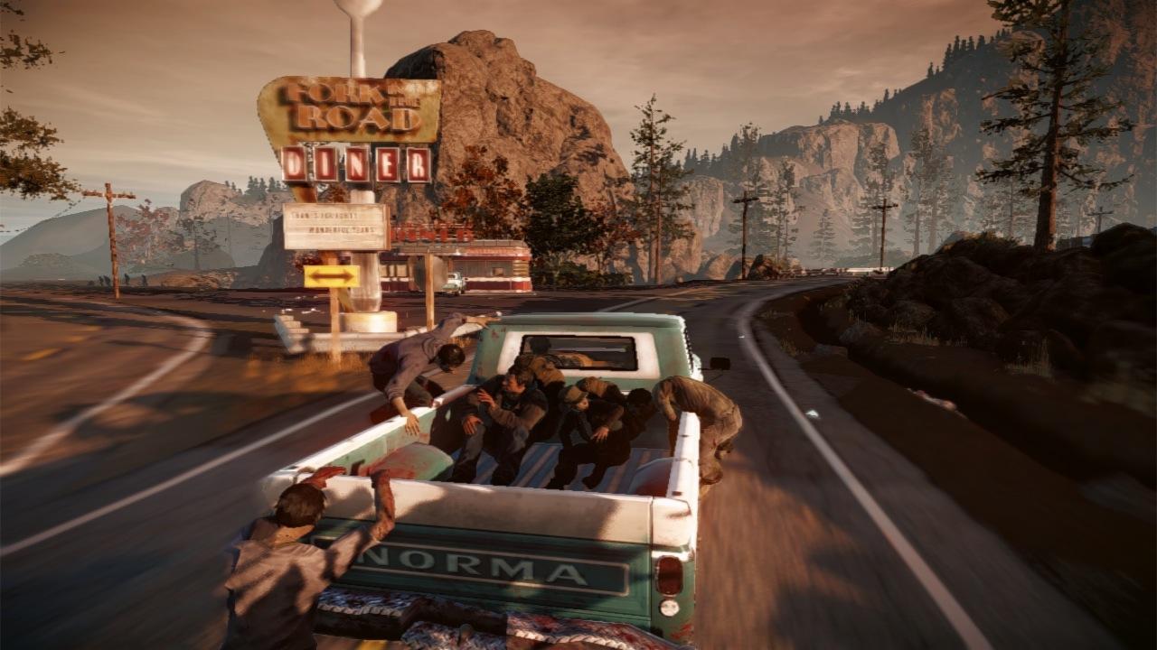 Unrealistic screenshot, car not airborne.