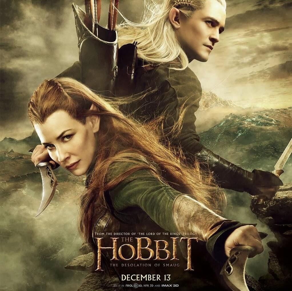 Legolas and Tauriel Poster for THE HOBBIT Sequel — GeekTyrant