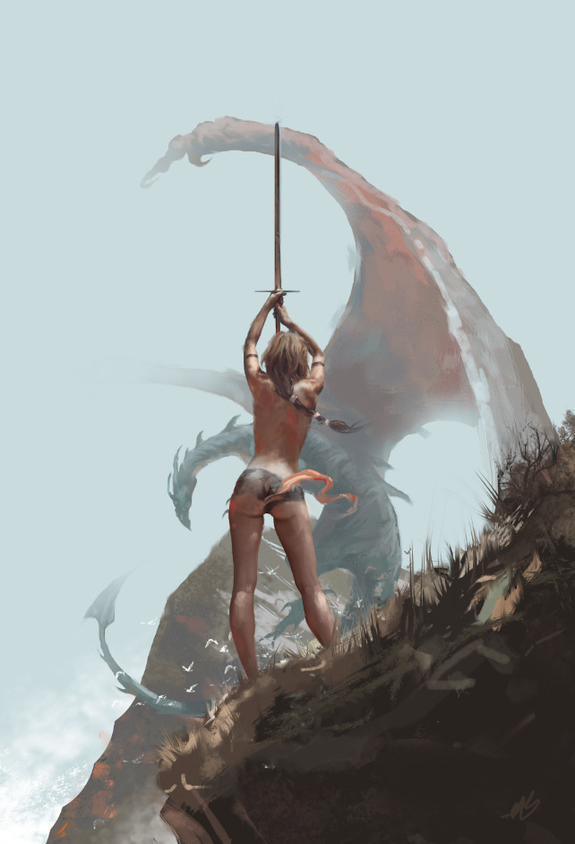 Fantasy Art Beautiful Dragon