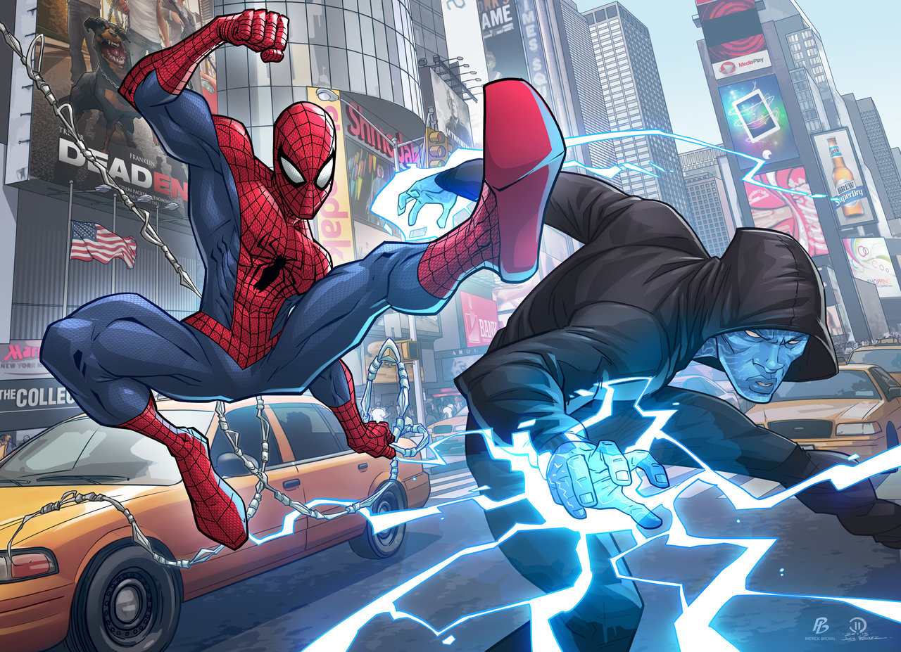 Man Of Steel And Amazing Spider Man 2 Fan Art Geektyrant