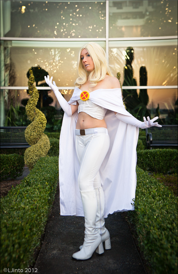 Kudrel-Cosplay  is White Queen | Photo by  LJinto