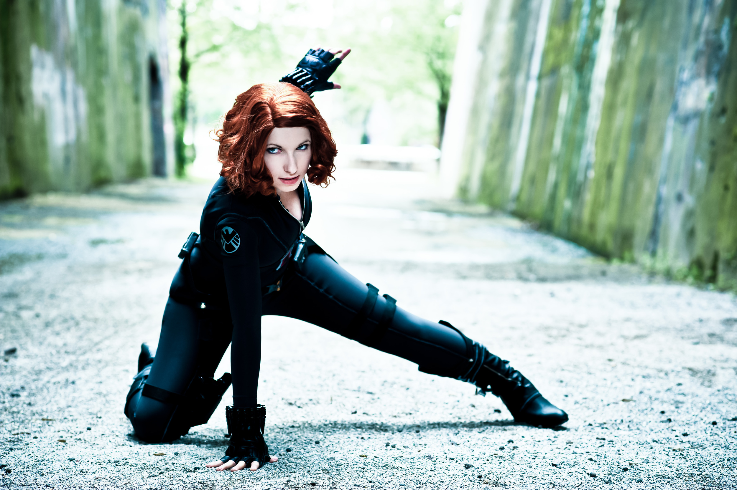 Rayi-Kun  is Black Widow | Photo by:  Franky-Chan