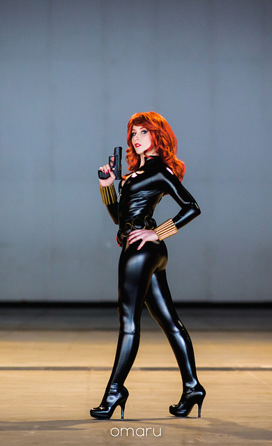 Nikita Cosplay  is Black Widow | Photo by: Omaru