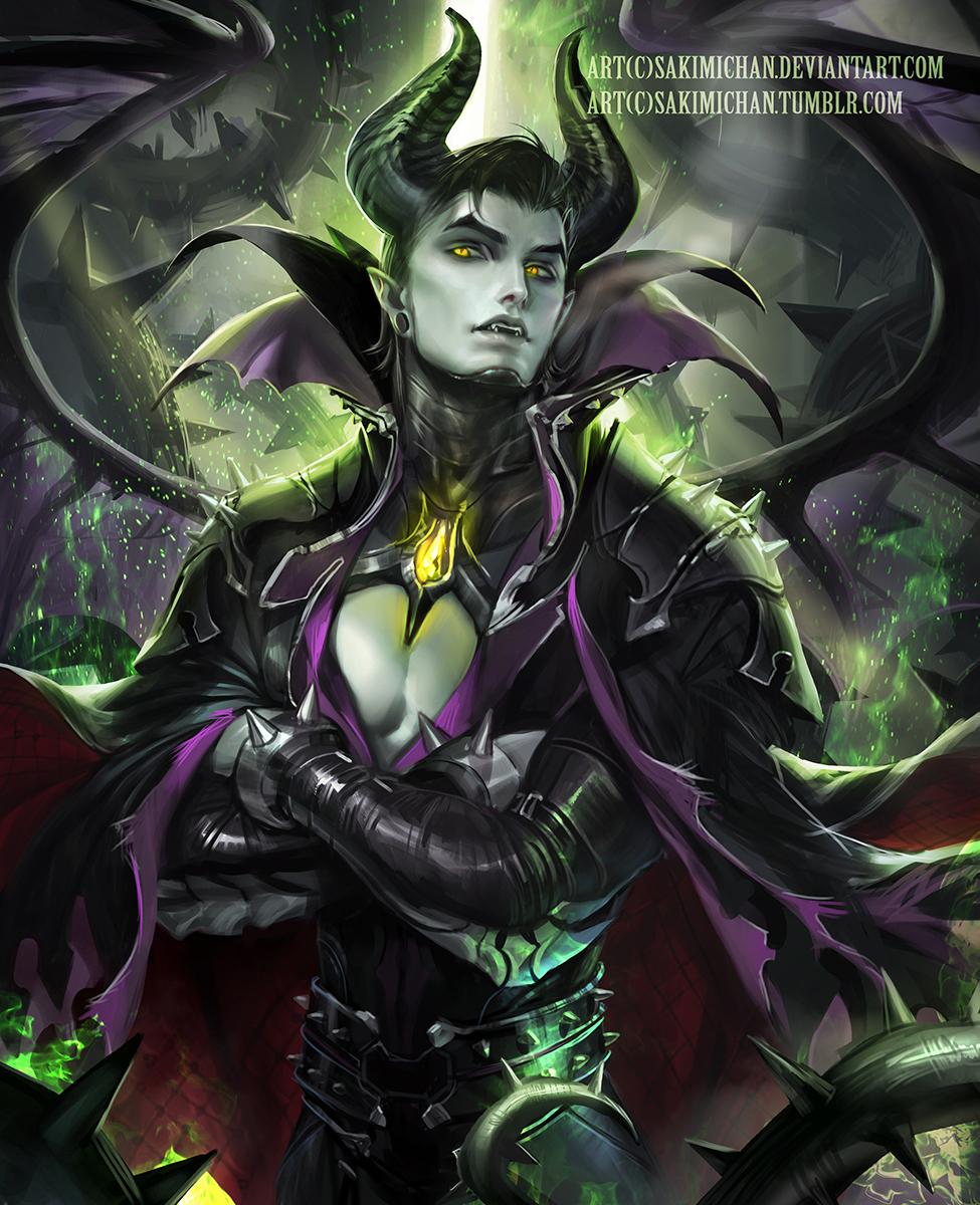 Male Maleficent