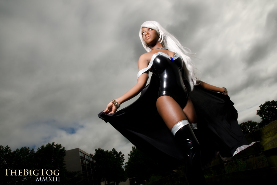Maki Rolle  is Storm | Photo by:  The Big Tog