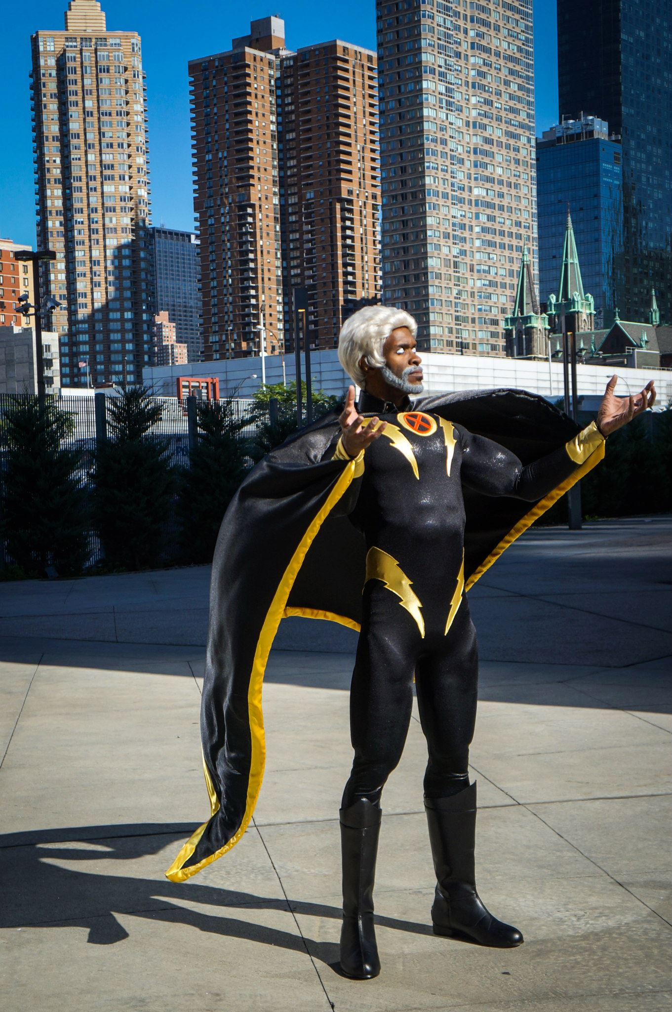 Larry Smith  is Storm | Photo by:  Felix Wong Photography