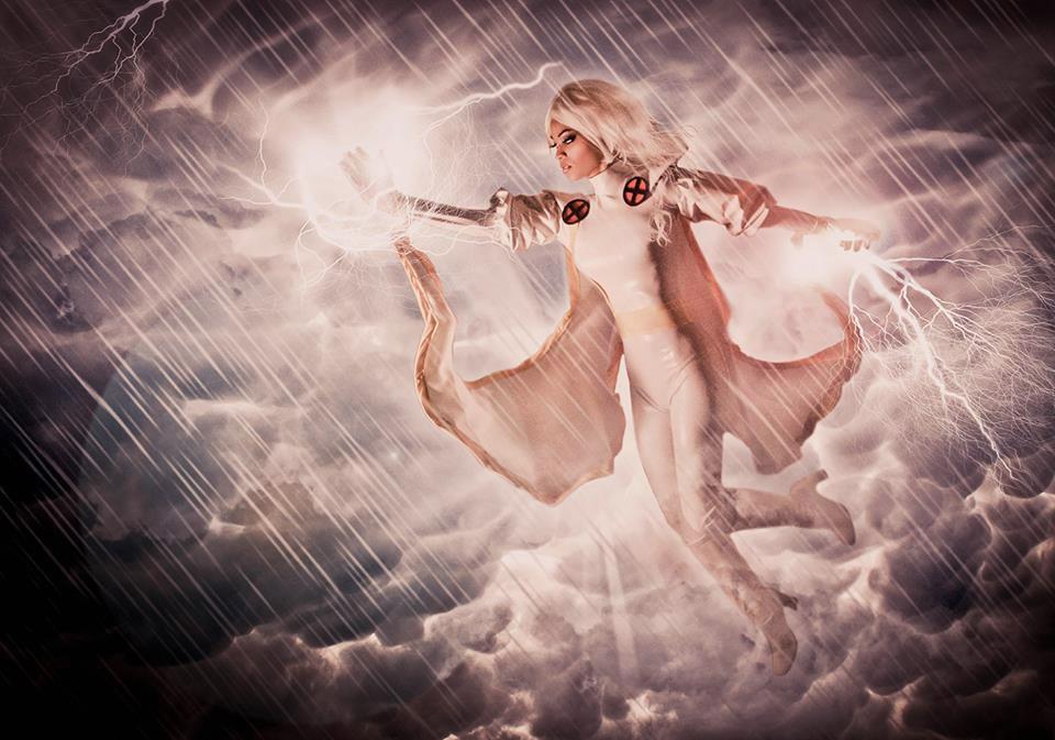 Sara Moni Cosplay  is Storm