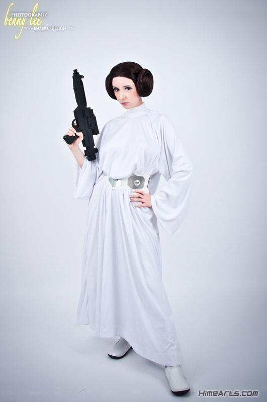 Riddel is Princess Leia — Photo by Benny Lee