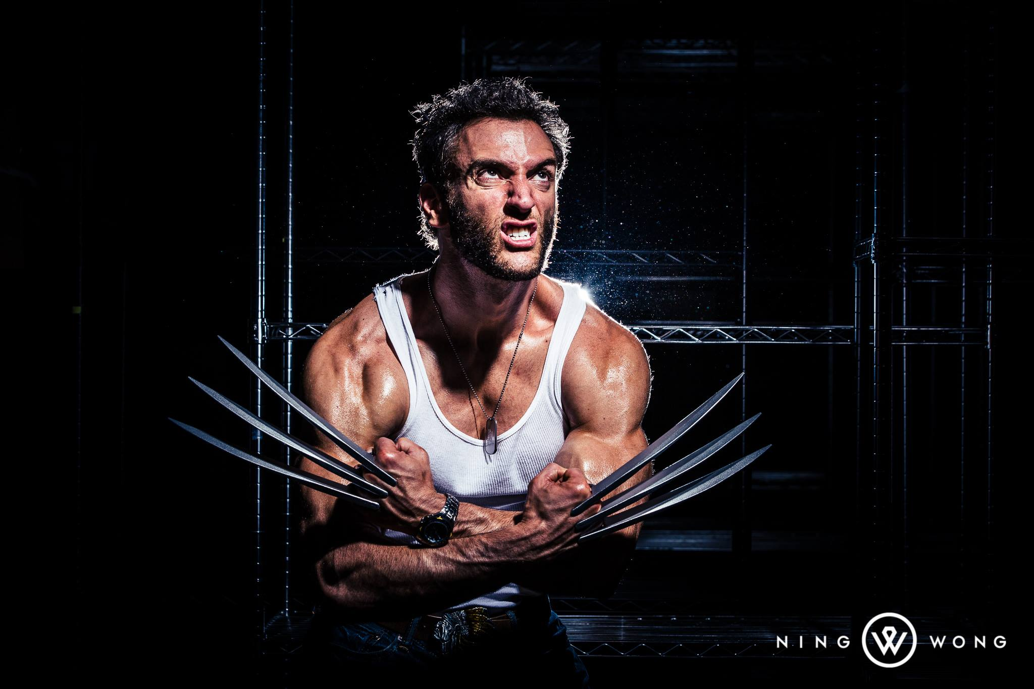 Lonstermash  is Wolverine — Photo by  Ning Wong