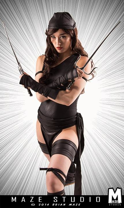Kris Lee  is Elektra | Photo by:  MAZE Studio