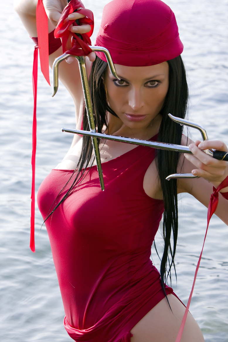 Giorgia Cosplay  is Elektra