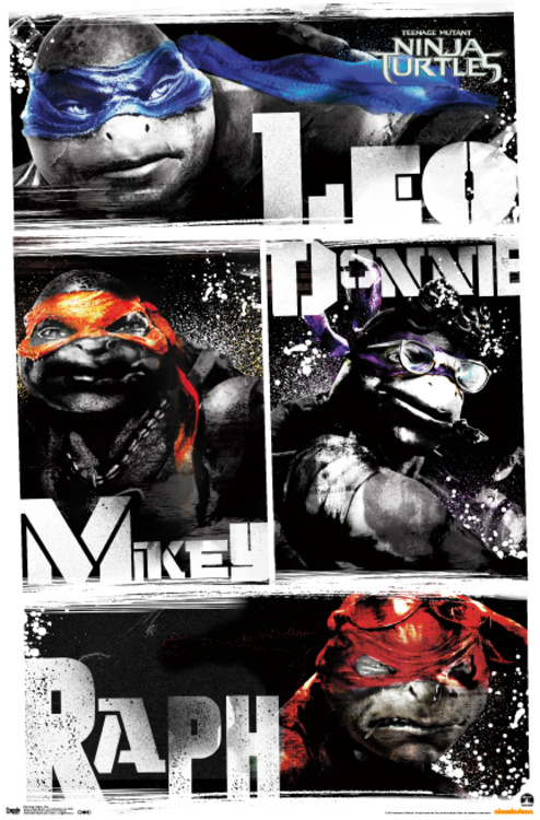 New Teenage Mutant Ninja Turtles Character Posters Released Geektyrant