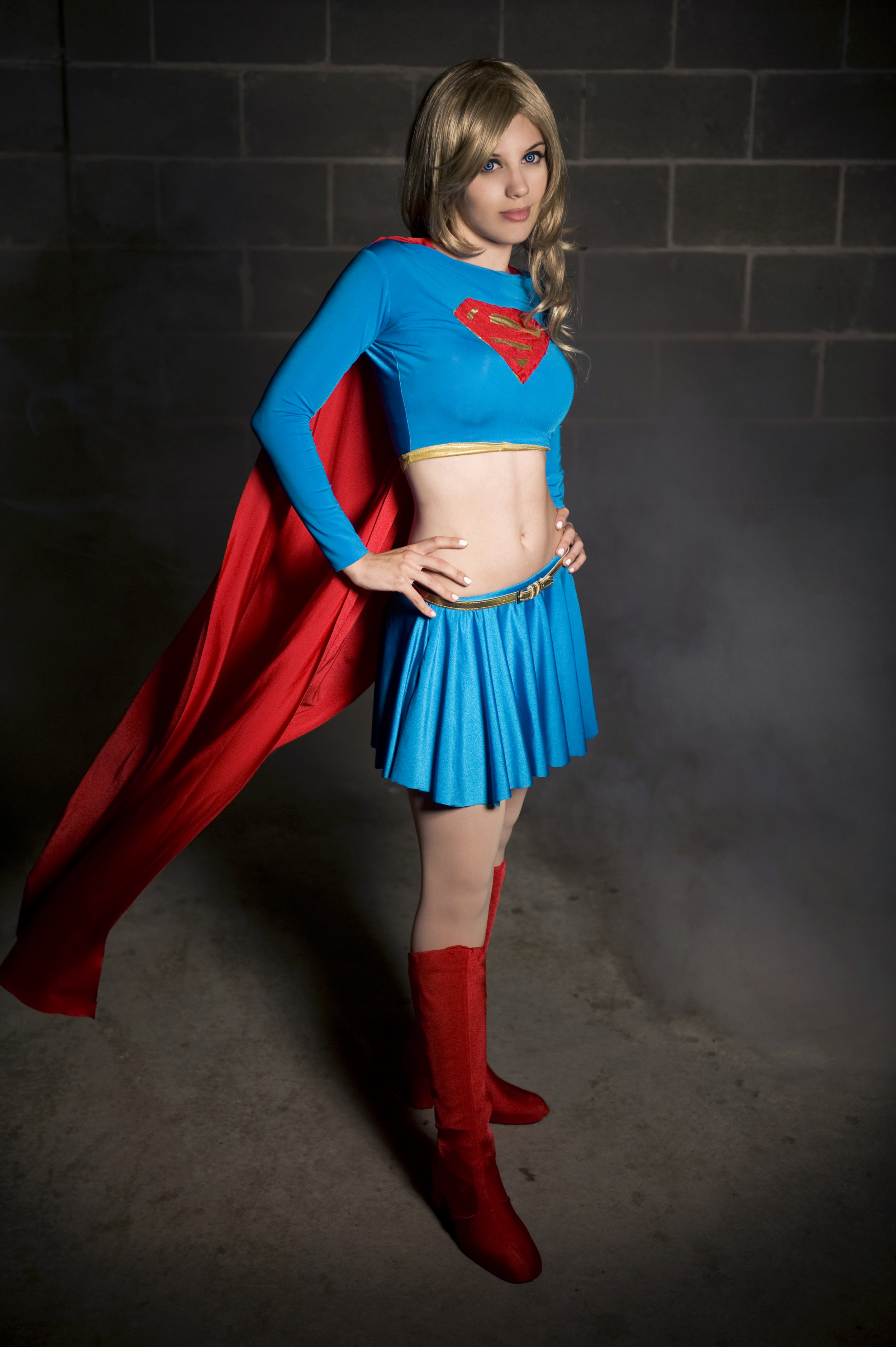 Badluckkitty  is Supergirl — Photo by  Krisez