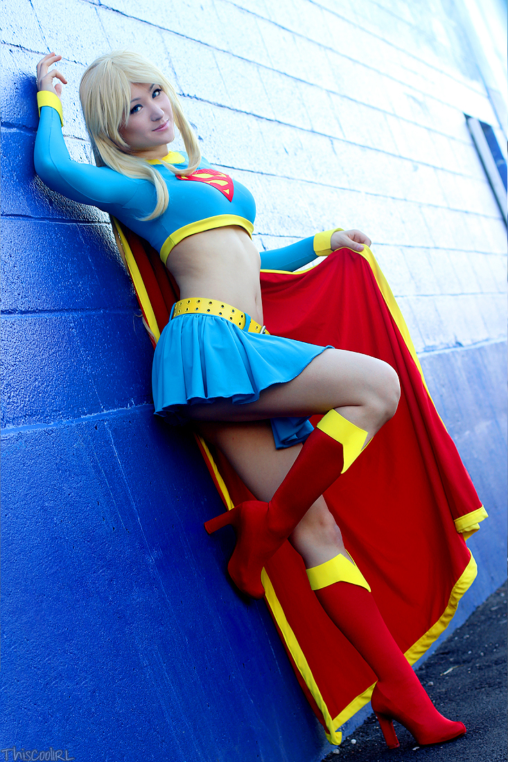 Mostflogged  is Supergirl — Photo by ThiscoolIRL