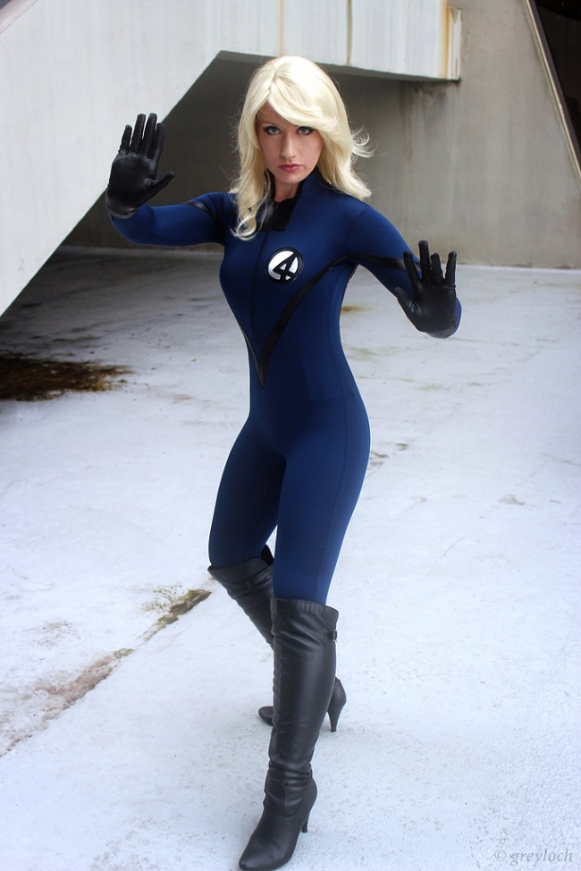 Kimberly Moore  is Invisible Woman | Photo by:  Greyloch
